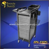T105 Professional Personal Assistant Metal Hair Salon Trolley Manufactures