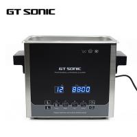 China Stainless Steel Ultrasonic Jewelry Cleaner 240 * 140 * 100MM Tank 3L on sale