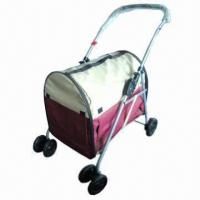 Lightweight 4-in-1 Pet Stroller, Durable Mesh Keeps Visibility Manufactures