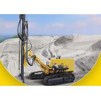 Diesel Engine Driven DTH Rock Drilling Rig Crawler Drilling Rig 25m Drilling Depth Manufactures