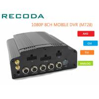 8 Channel 4G WIFI HD 1080P Vehicle DVR H.264 Compression For Car CCTV System Manufactures