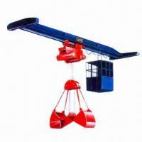 Single-beam Electric Grab Bucket Crane with 2 Tons Lifting Capacity Manufactures