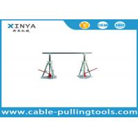 Stringing Tools 30-50KN Lever Type Cable Drum Simple Reel Pay-off Stand Manufactures