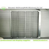TL5.21mm 65% Transparent LED Screen , commercial mall big led glass wall window Manufactures