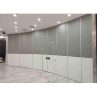 Demountable Sliding Partition Wall For Home ,  Retracted Sliding Folding Partition Rubber Sealing