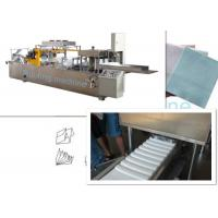 Printing And Folding Non Woven Fabric Machine For N W Fold Shape , Low Noise Manufactures