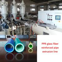 3 layer PP PE PPR glass fiber reinfoced pipe extrusion machine Manufactures