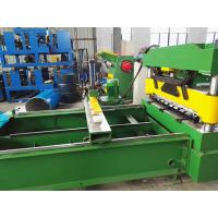 China Sheet Crimped Metal Roofing Roll Forming Machine With PLC Control System , 0.7mm Thick on sale