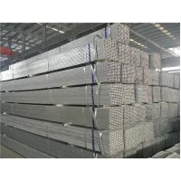 Rectangular Electric Resistance Welded ERW Steel Tube / ERW Tubing For Motorcycle Manufactures