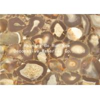 Quality Stone Design Soft Pet Hot Stamping Film PVC Surface Covering Usage for sale