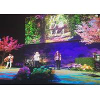 Lightweight Backdrop Design P3 P4 P5 P6 Indoor LED Video Wall , Stage Concert Display Manufactures