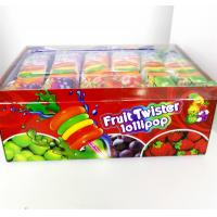 Colorful Multi Fruit Flavor Twist Lollipop Sweet And Healthy with Fluorescent sticks Manufactures