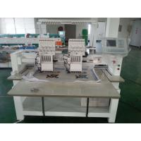 Tubular Double Head Embroidery Machine Commercial With LCD Display Manufactures