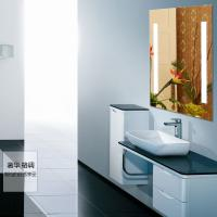 5mm clear glass led lighted bathroom mirror Manufactures