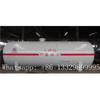 China factory price best price pressure vessel 4ton 10m3 lpg storage tank for sale, bullet type propane gas storage tank on sale