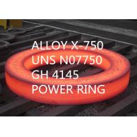 China AS9100 High End Special Alloys Alloy High Tensile Strength X-750 / UNS N07750 Forging on sale