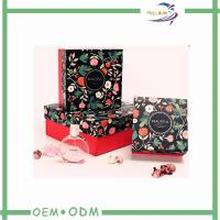 Delicate Paper Package For Cosmetic Gift Box And Perfume / Essential Oil Box Manufactures