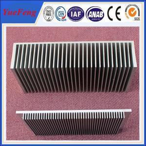 Aluminium fin heatsink manufacturer, Industrial aluminum heat sink profile Manufactures
