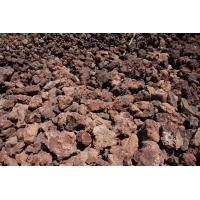China red lava stone on sale