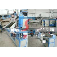 Single Screw Or Twin Screw Plastic Extrusion Line , PP Strap Band Making Machines Manufactures