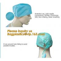 Consumable Products Medical Disposable Cap with low price,Medical Disposable non-woven hospital bouffant cap BAGEASE