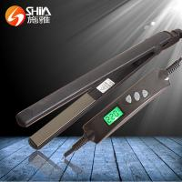 China SY-861 shiya china hair straightener Digital LCD Hair Straightening Iron on sale