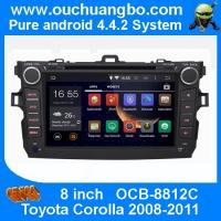 Ouchuangbo Car DVD Stereo System for Toyota Corolla 2008-2011 Android 4.4 3G Wifi BT Audio Manufactures