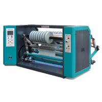 Double Shafts Crossed Non Woven Fabric Production Line High Speed Slitting Machine Manufactures