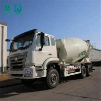 Dynamic Force Output Concrete Mixing Truck / Euro 2 Front Discharge Mixer Truck Manufactures