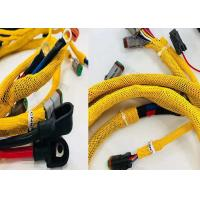 Buy cheap Logo Printing PET Expandable Braided Sleeving For Automobile Wires Protection from wholesalers