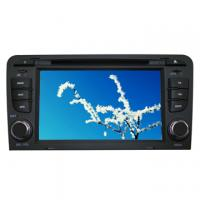 China AUDI A4 2 din Car radio dvd player with GPS Navigation System OEM Price on sale