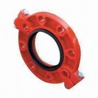 Grooved Fitting Split Flange with Painting Surface Treatment Manufactures
