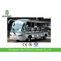 Buy cheap White 14 Seats Tourist Resort Car Battery Used Electric Sightseeing Car With from wholesalers