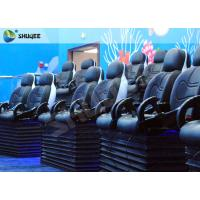 Blue Marine Theme 5d Cinema Theater With Kids Animation And 5D Motion Chairs In Marine Park Manufactures
