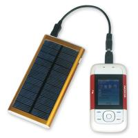 3000mAh portable solar powered phone charger for iPhone Manufactures