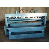 China Custom Roll Forming Machine 1mm - 3mm Steel Slitting and Cutting Length on sale