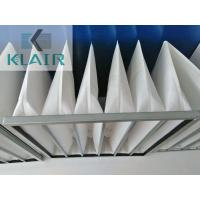 Washable Bag Air Filters Ahu Air Conditioning With High Dust Load G3 G4 M5 M6 Manufactures