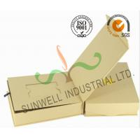 Brown Color Custom Printed Corrugated Cardboard Gift  Boxes Rigid Foldable Manufactures