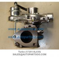 China Turbo 17201-0L030 Turbocharger used for Toyota 1KD engines on sale
