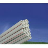 Water Supply System PPR Water Pipe and Fittings , PPR Plastic Water Pipe Manufactures