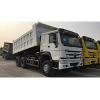 China SINOTRUCK HOWO 6x4 10 Wheeler 18m3 Dumper Truck With 371HP Engine on sale