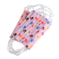 High Elasticity Ear Loop Disposable Kids Mask Non Woven Melt Blown Fliter Cloth Manufactures