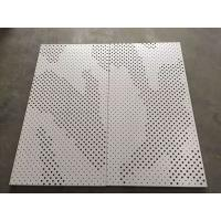 High Strength Perforated Aluminum Ceiling Tiles Ral & Pantone Color Manufactures
