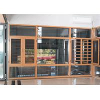 Contemporary Aluminum Windows And Doors Yellow Overall Easy Clean Powder Coated Manufactures
