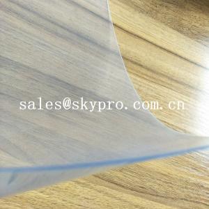 Flexible Super Clear Customized 1mm Thickness Non Toxic Double Film Rigid PVC Plastic Film Sheet
