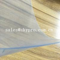 Quality Flexible Super Clear Customized 1mm Thickness Non Toxic Double Film Rigid PVC Plastic Film Sheet for sale