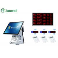 Wireless Simple Kiosk Queue Management System With 80mm Thermal Printer Manufactures