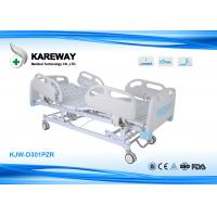 Three Functions Electric Care Hospital Bed Cold Steel Plate Central Locking Manufactures