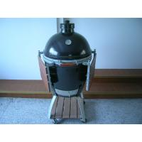 Quality 21'' High Temperature Big Green Egg Ceramic Grill For Meat / Fish / Chicken Outdoor bbq for sale