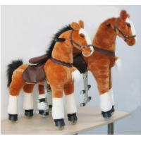 Amusement Park Equipment Mechanical Pony Kid Ride On Walking Animal Rocking Horses Manufactures